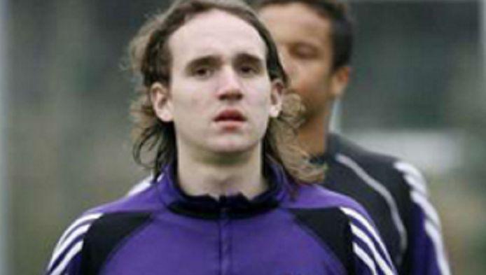 Kums tijdens zijn eerste periode in Anderlecht.