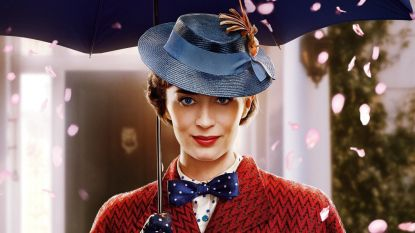 """Emily Blunt kruipt 54 jaar na Julie Andrews in de huid van Mary Poppins: """"Het origineel heb ik niet meer bekeken"""""""