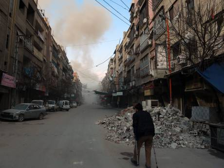 '500 doden bij bombardementen op Ghouta'