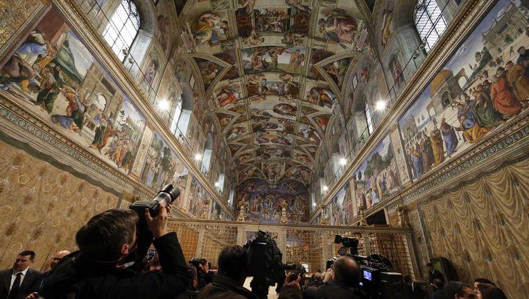 de sixtijnse kapel in het vaticaan