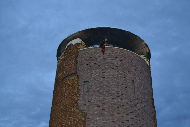 De heks op de Maagdentoren.