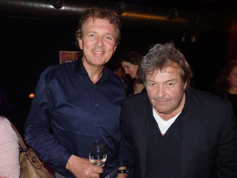 Dj Robert ten Brink (l) en dj Michiel Romeyn. Ten Brink: