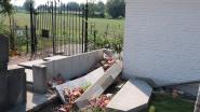 Vandalen houden lelijk huis op kerkhof in Durmen: vijf graven lopen zware schade op