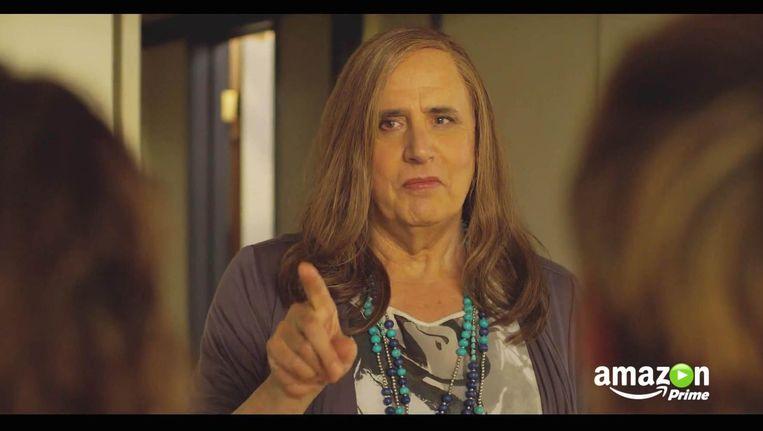 Jeffrey Tambor als transgender in de serie Transparent Beeld bruno