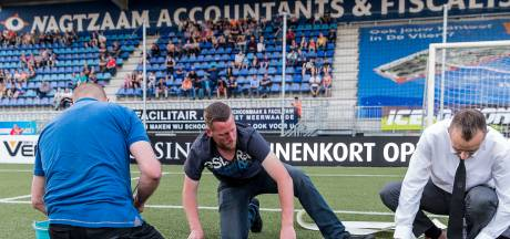FC Den Bosch - FC Emmen afgelast vanwege kapot kunstgras