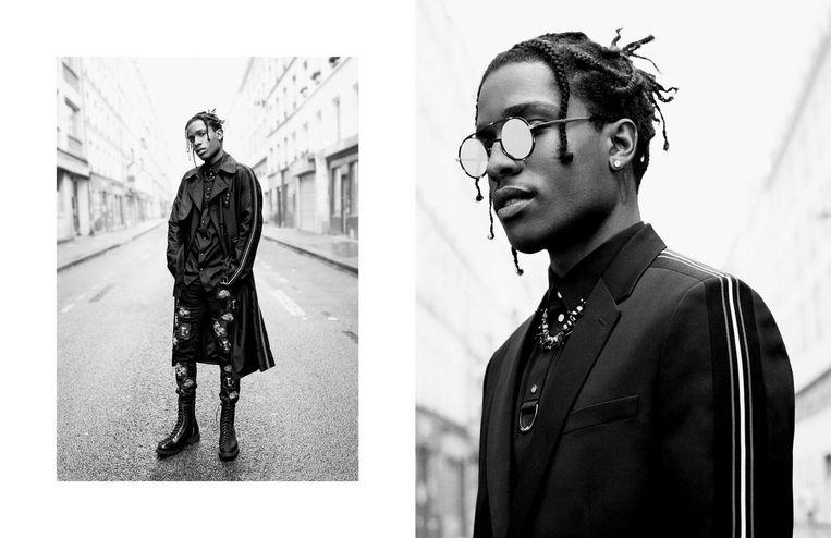 A$AP Rocky schopte het zelfs tot model voor Dior.