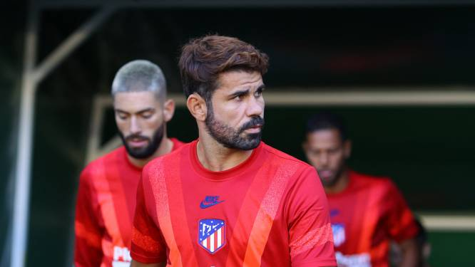 Twee coronagevallen bij Atlético: Diego Costa en Santiago Arias in quarantaine