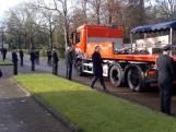 Erehaag voor overleden brandweerman uit Apeldoorn