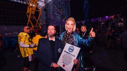 """VIDEO. Kate Ryan neemt record in ontvangst: """"Bijna 60.000 Duitsers, ik was er even niet goed van!"""""""