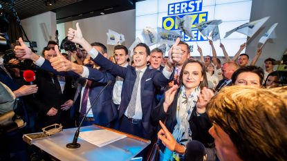 Twee derden van de Vlaams Belang-parlementsleden zijn nieuwkomers