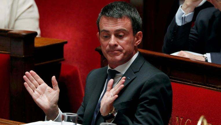 Franse premier Manuel Valls Beeld reuters
