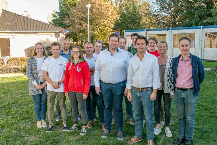 KLJ Belsele, JC De Galjaar en turn- en dansclub Ritmica gaan samen bouwen naast sporthal De Klavers, met steun van de stad.