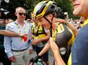 Mike Teunissen weet het: een etappezege én het geel.