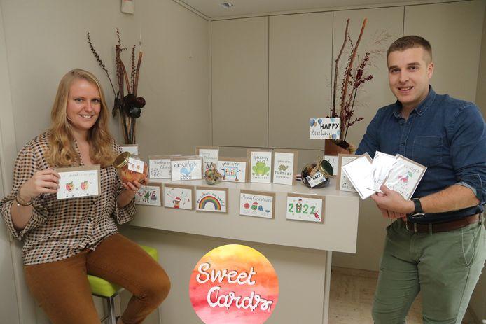 In het aanbod van Sweet Cards zitten wenskaarten die voor alle gelegenheden kunnen worden gebruikt