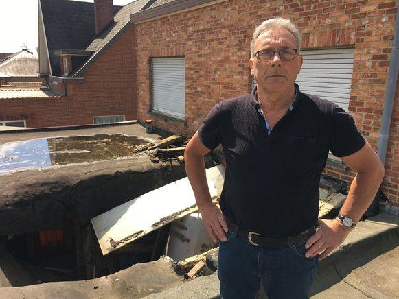 Buurman Louis Thys kwam het slachtoffer als eerste te hulp.