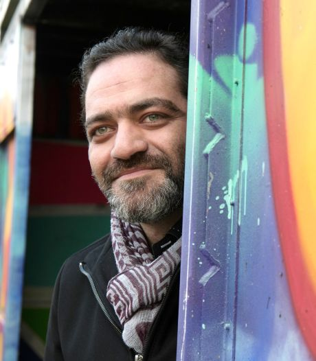 Ghassan al Hariri (37) kan in Dalfsen niet in zijn eentje bruggen bouwen