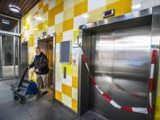 Liftprobleem Pieter Vreedeplein pas eind 2018 opgelost