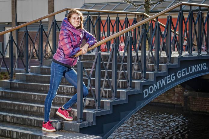 Atlete Maureen Koster is weer terug van een periode van mindere prestaties. Ze is er happy mee.