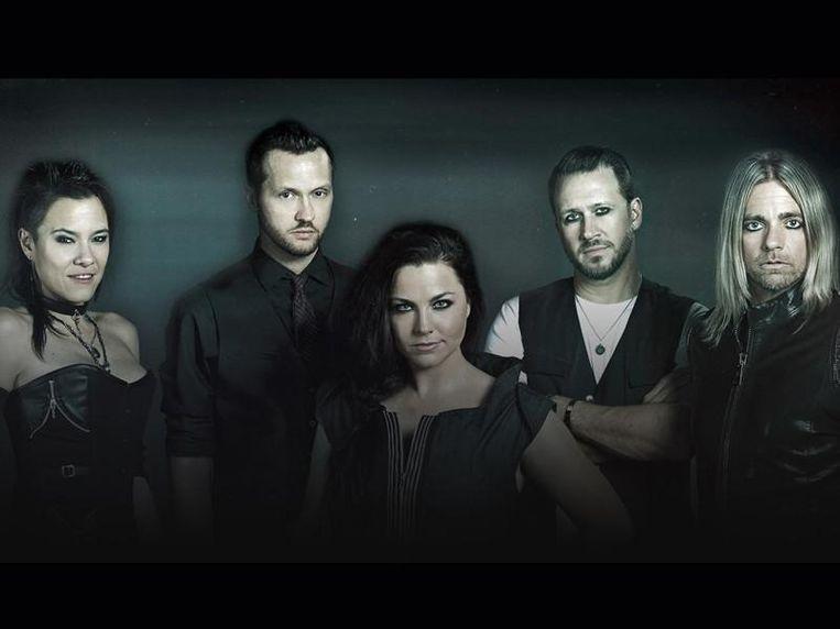 Evanescence is een van de drie headliners.