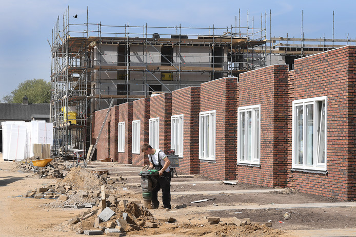Woningbouw in Cuijk.