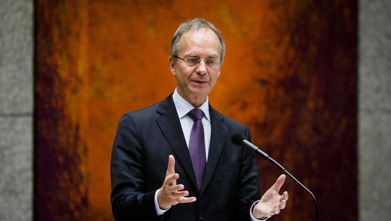 Minister Kamp van Economische Zaken in de Tweede Kamer. Beeld anp
