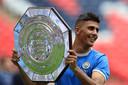 Rodri heeft na zijn eerste wedstrijd bij Manchester City al een prijs te pakken: het Community Shield.