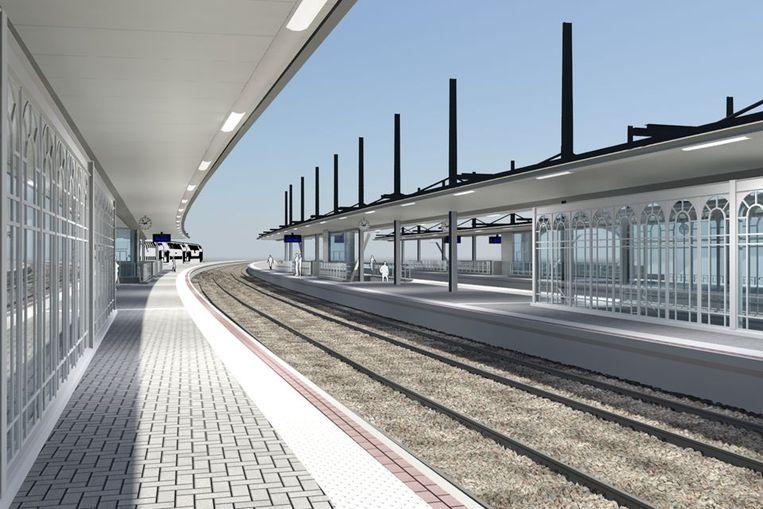 Zo moet het station van Vilvoorde er na 2023 uitzien.