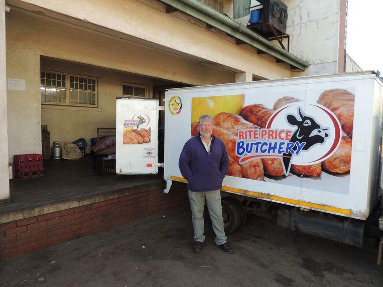 Alex Goosen, ex-boer en directeur van een vleesverwerkingsfabriek. Beeld Niels Posthumus