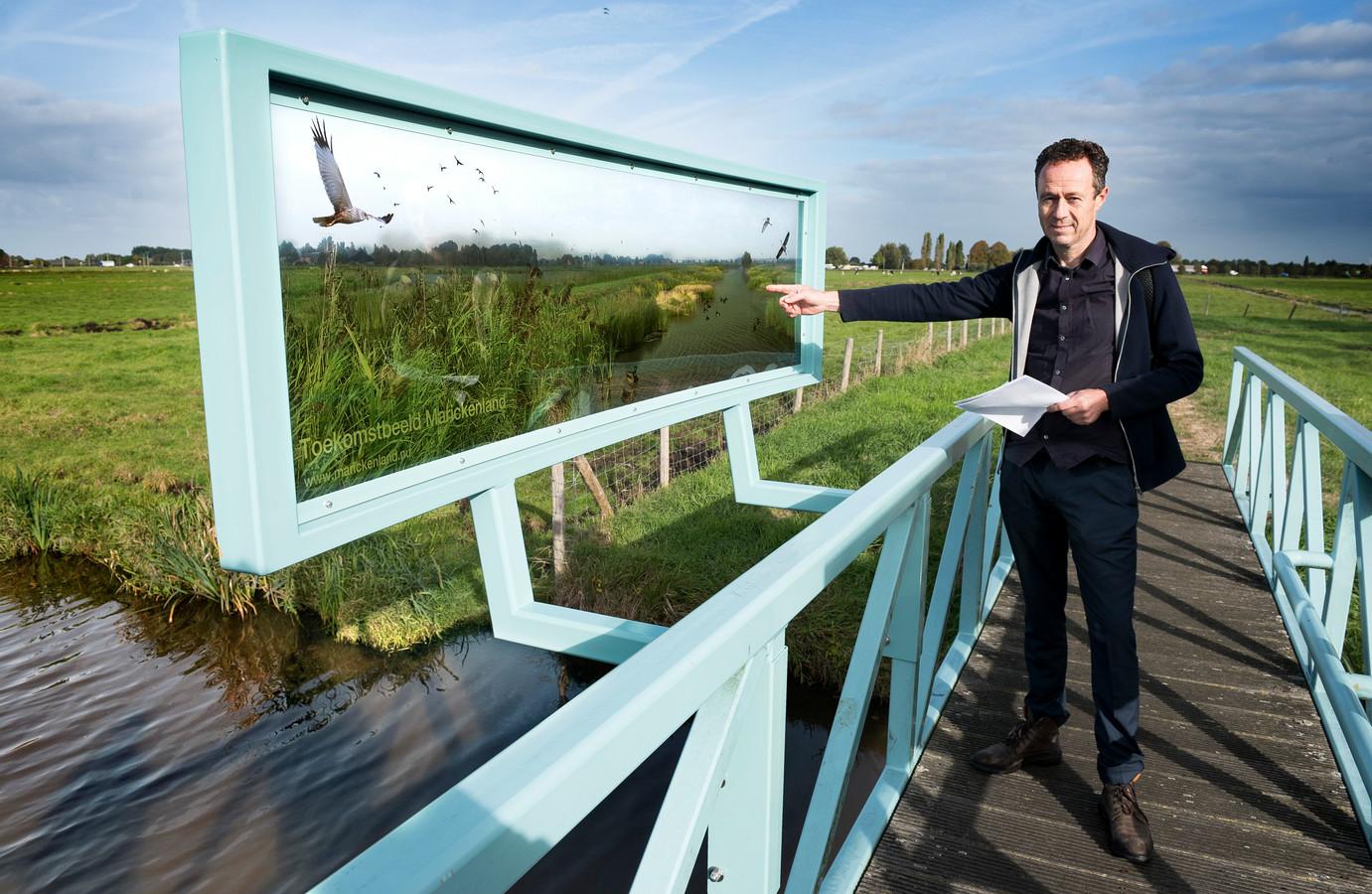 Landschapsarchitect en ecoloog Klaas Jan Wardenaar.