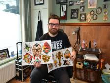 Bram Elstak uit Eindhoven maakt  tatoeages van De Efteling