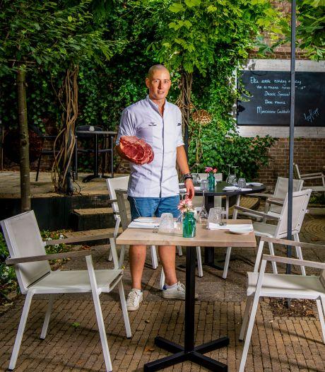 Corona bezorgde chefkok Van Dillen een valse start, maar nu is zijn binnentuin een soort 'lusthof'