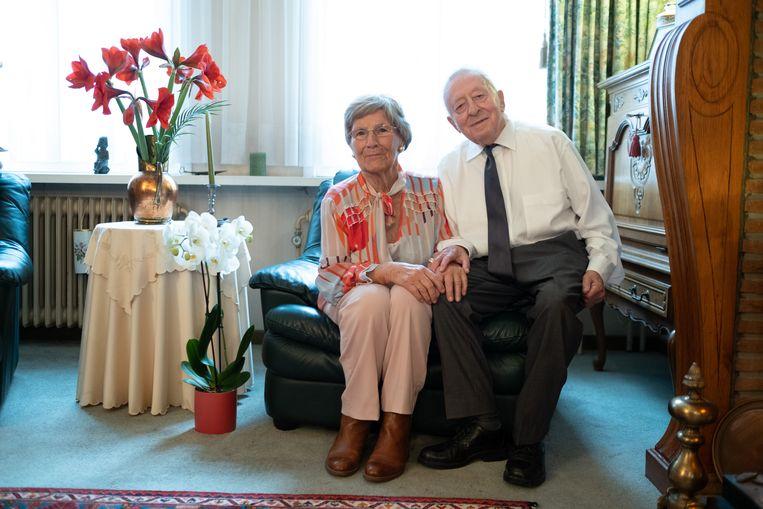 Josephus Vlummens en Godelieve Verbist vierden hun briljanten huwelijksverjaardag.