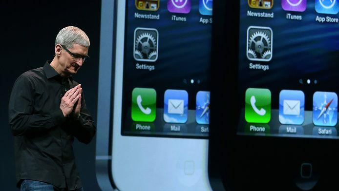 De kans is bijzonder klein dat Apple-CEO Tim Cook toegeeft aan de eis van Belgische regering.