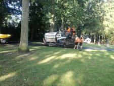 Nieuw asfalt op paden Stadswandelpark Eindhoven