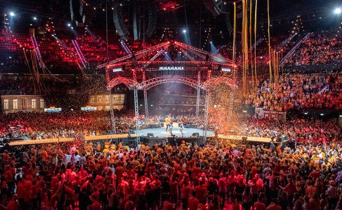 Grote evenementen zijn kind aan huis in Ahoy, zoals de Nacht van Oranje.