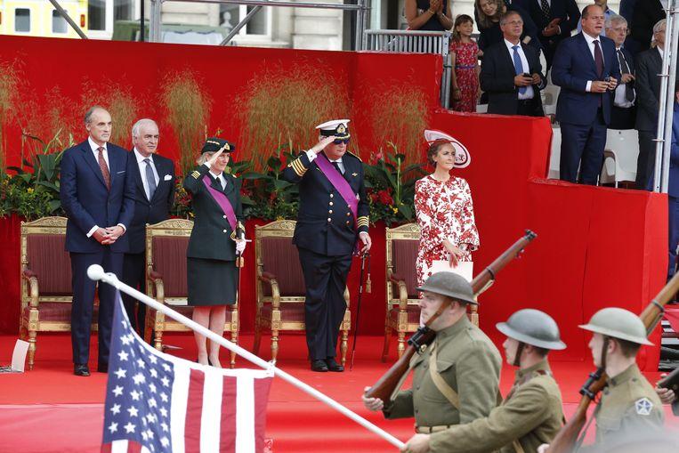 Bij de internationale troepen die deelnamen  zaten  afstammelingen van WOI-oudstrijders uit onder andere Australië,  Nieuw-Zeeland, Canada en de VS.