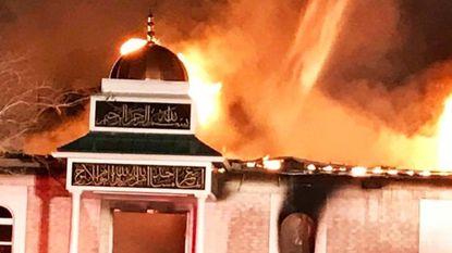 Moskee in Texas platgebrand na inreisverbod VS