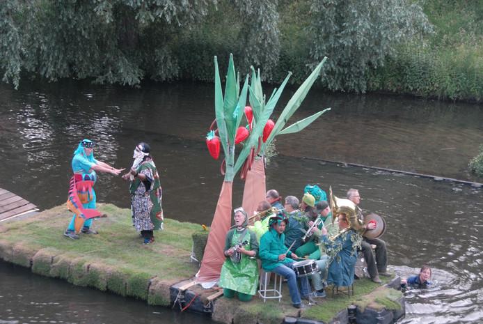 'De zeven hoofdzonden, je kent ze' is een gezamenlijk project van Ed Santman, Jos Zandvliet en Mirthe Wacki (Bosch Parade 2015).
