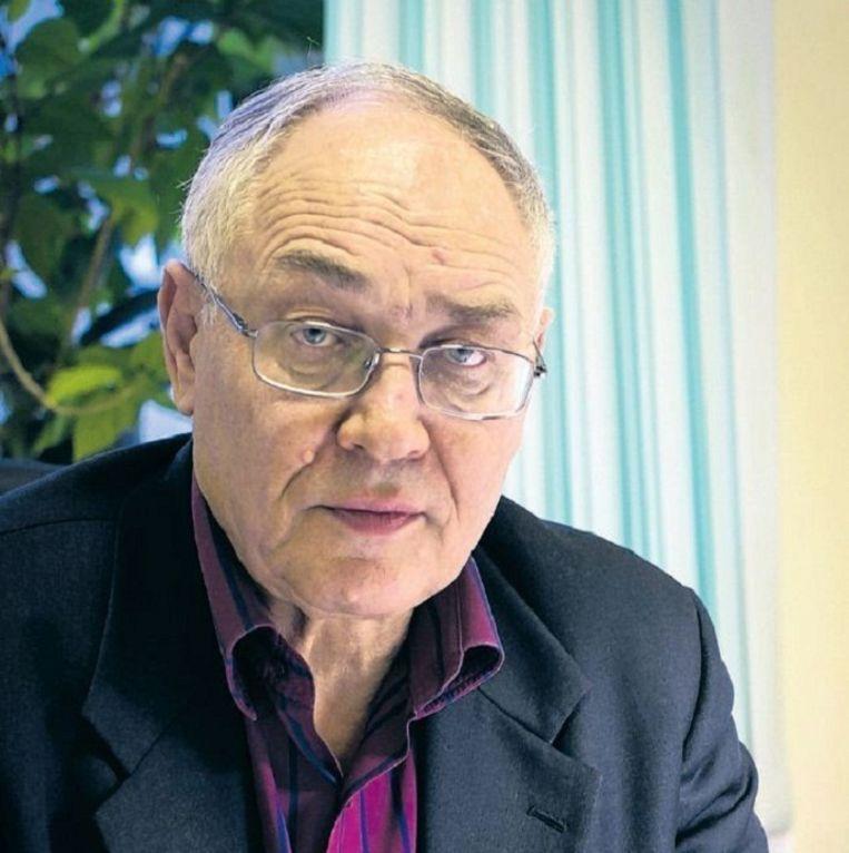 'De nationalistische euforie wordt kleiner.' Beeld Geert Groot Koerkamp