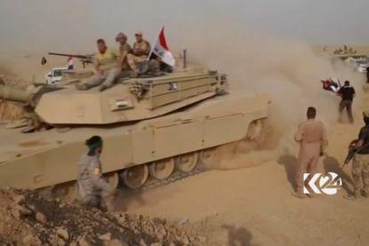 """Irak start nieuw offensief tegen IS: """"Bijna 30.000 kinderen zitten nu tussen twee vuren"""""""