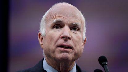Amerikaanse senator John McCain overleden