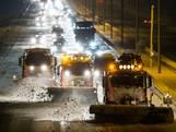 Thuiswerken zorgt voor minder verkeer tijdens winterse ochtendspits