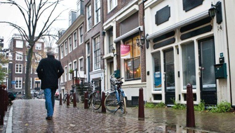 Voormalige peeskamers in de Bergstraat staan te koop. Floris Lok Beeld