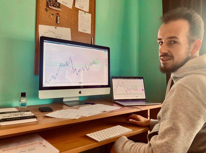 Sepp Depauw uit Leest schrijft een cursus 'Trading for dummies'