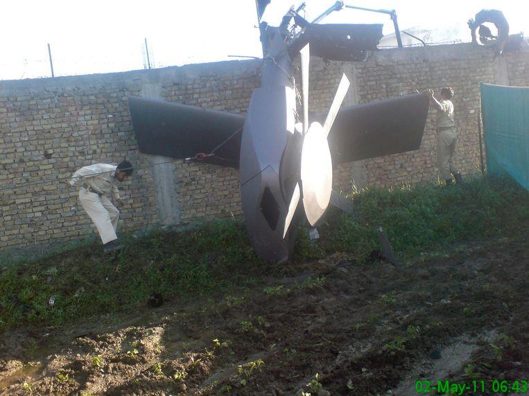 Door een neergestorte helikopter liep de operatie nog bijna mis.