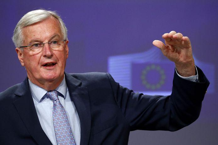 Michel Barnier, négociateur de l'UE pour le Brexit.