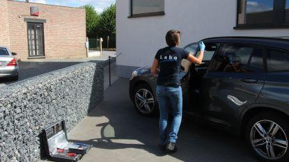 Dieven ontmantelen BMW's