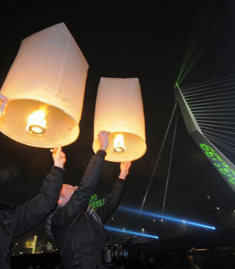 Verbod op wensballon in Berg en Dal