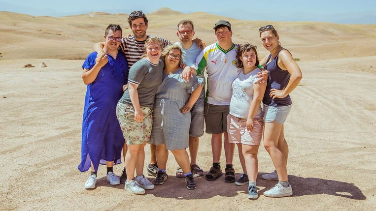 De woestijn verkennen, paragliden of een lokale markt ontdekken: de zes nieuwe deelnemers aan het Eén-programma hadden de tijd van hun leven.