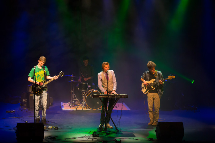 De groep The Muncks trad eerder ook op in Salland's Got Talent.